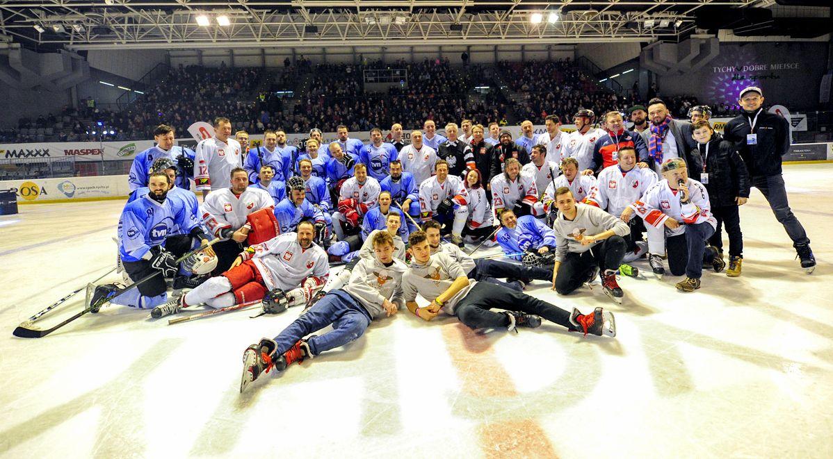 Mecz hokejowy w Tychach